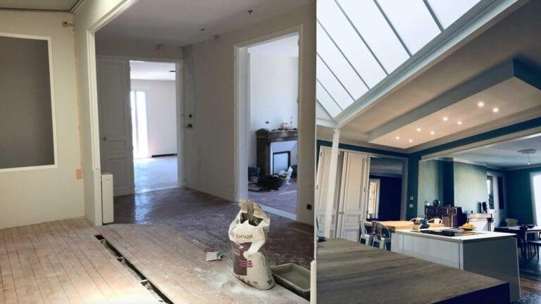 Easy Archi Toulon Var Paris Rénovation Construction Décoration intérieure design chantier avant après